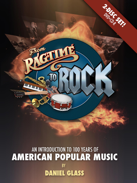 Ragtime to Rock DVD by Daniel Glass