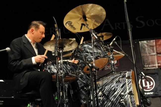 Daniel Glass - drumming
