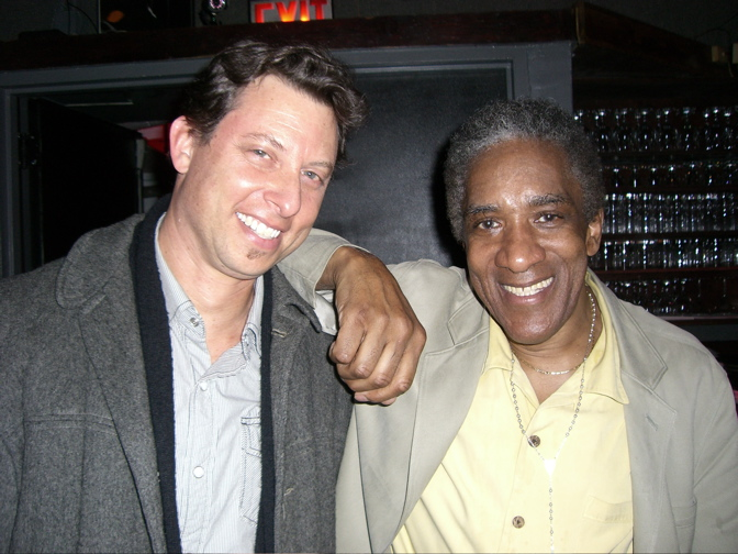 Daniel Glass with Al Foster of Miles Davis