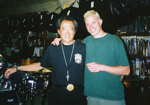 Daniel Glass with Harold Chang